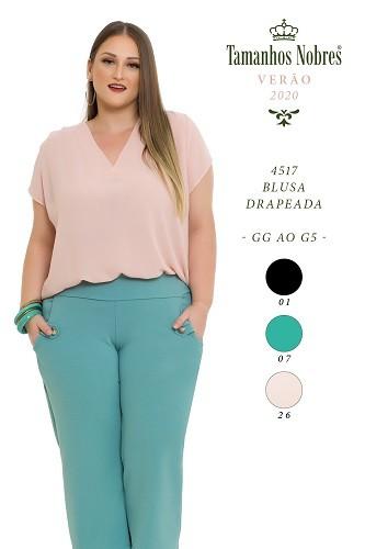 Blusa Drapeada