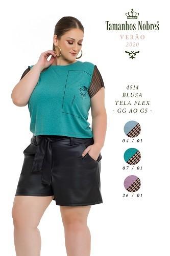 Blusa Tela Flex