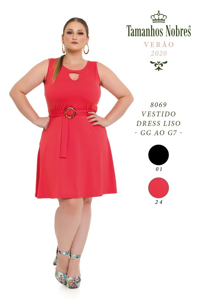 Vestido Dress Liso