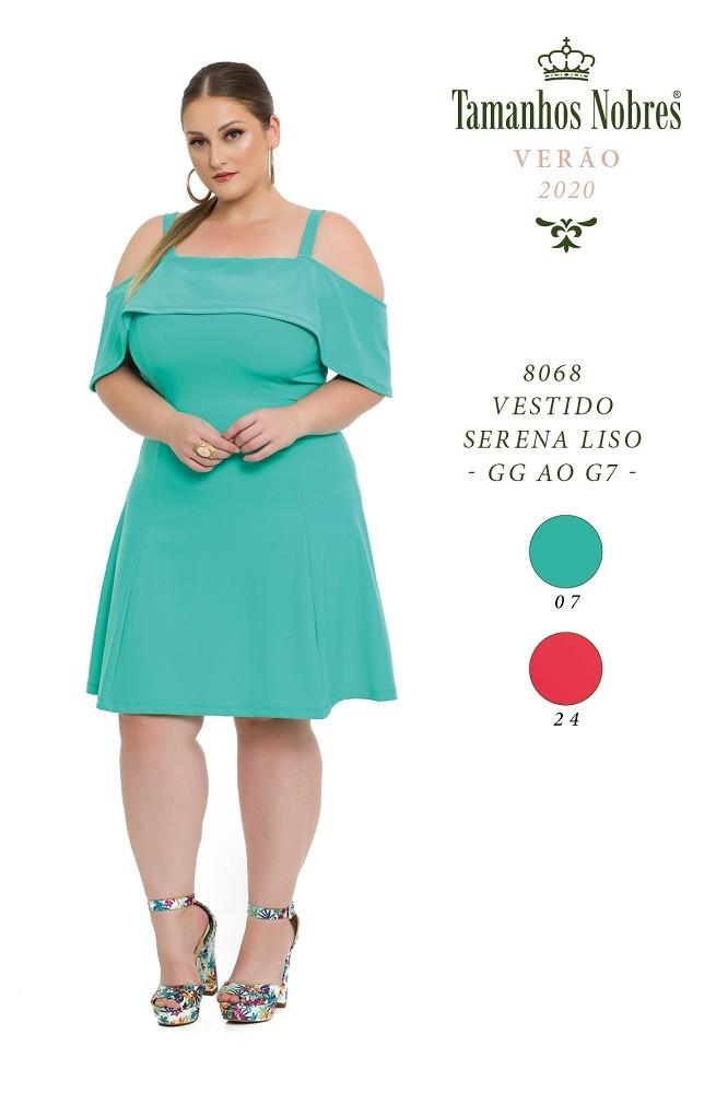 Vestido Serena Liso