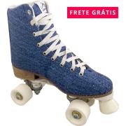 Patins Quad Retrô Jeans Owl Sports