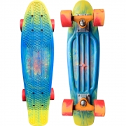 Skate Mini Cruiser Owl Sports Spiral Colors (Experience)