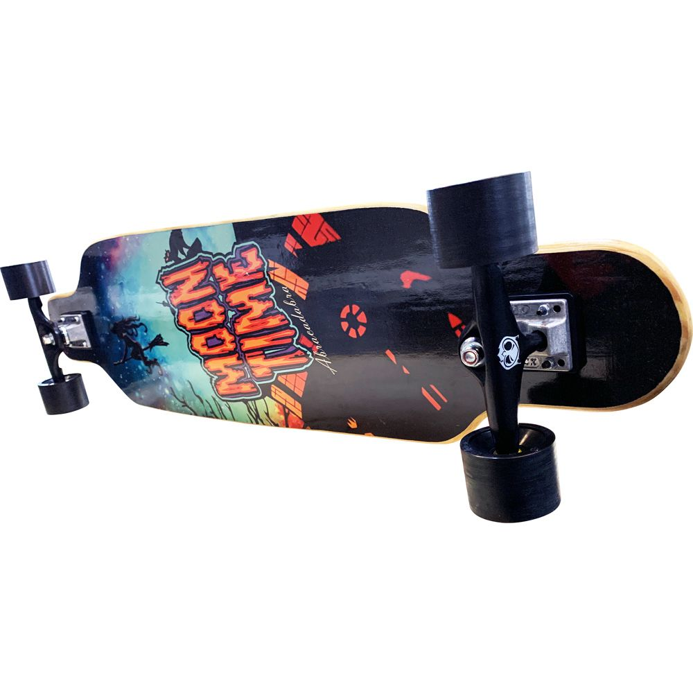 Skate Longboard Completo OWL Sports Moon Time Abracadabra (Speed)  - OWL Sports