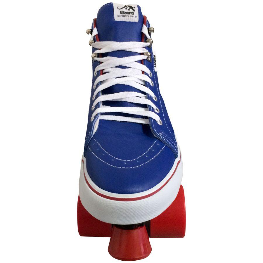 Patins Quad OWL Sports Tênis (Azul / Vermelho)