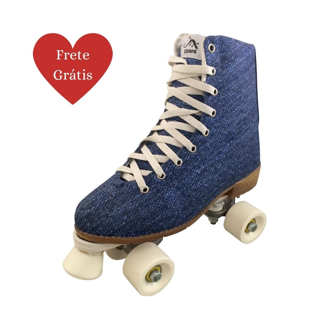 Patins Quad Retrô Jeans Owl Sports