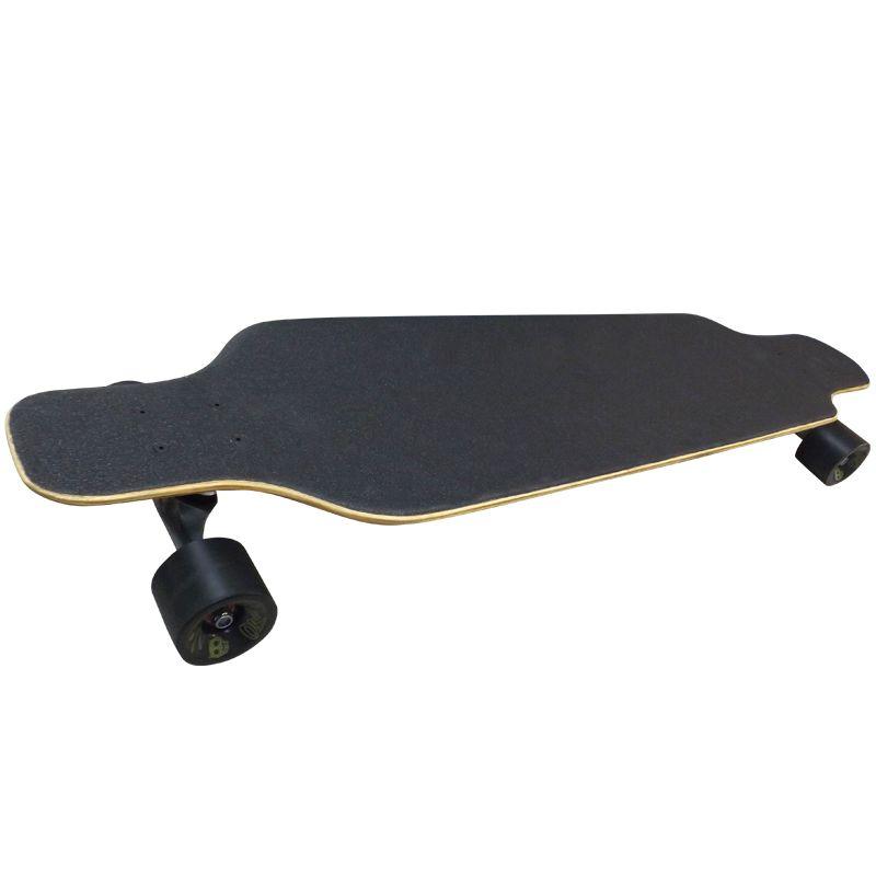 Skate Longboard Moon Time Caveira Speed