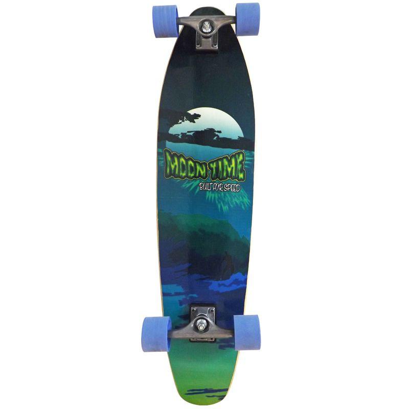 Skate Longboard Moon Time Wave Prancha
