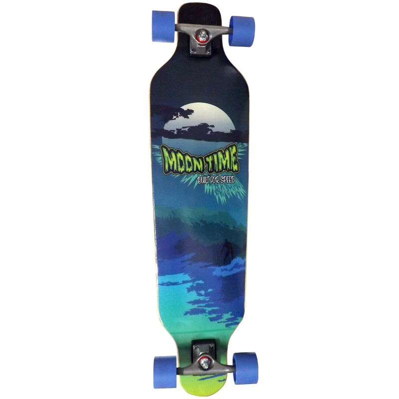 Skate Longboard  Moon Time Wave Speed