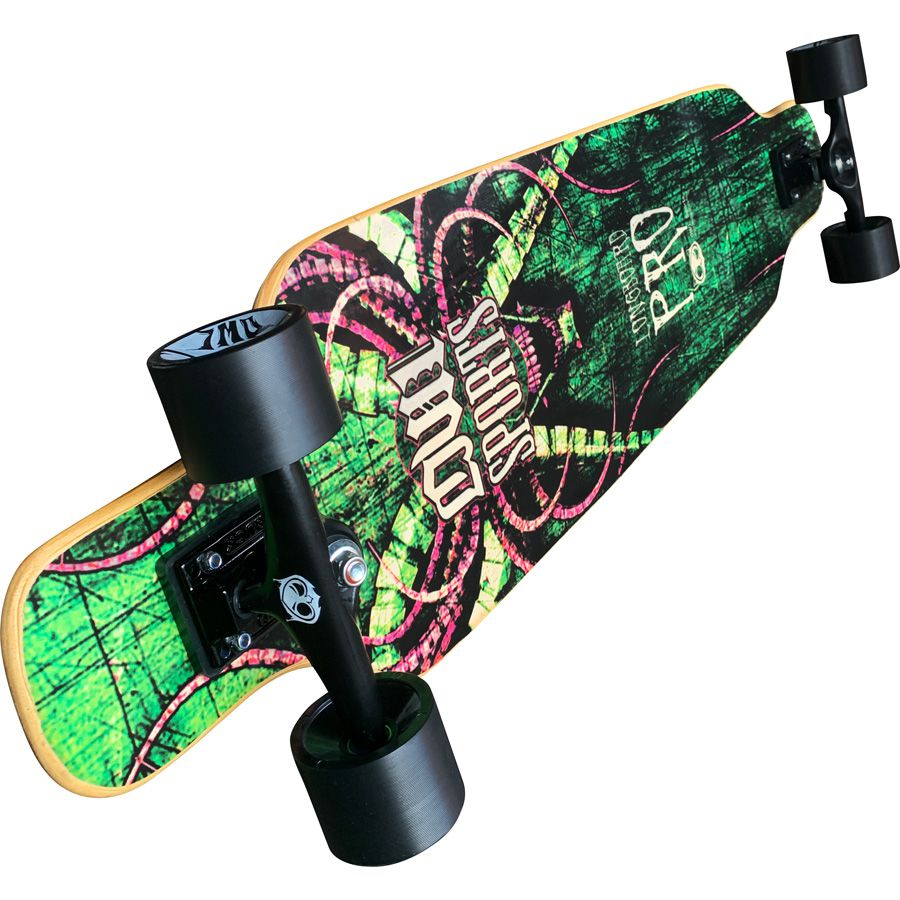 Skate Longboard Owl Sports Monster Speed