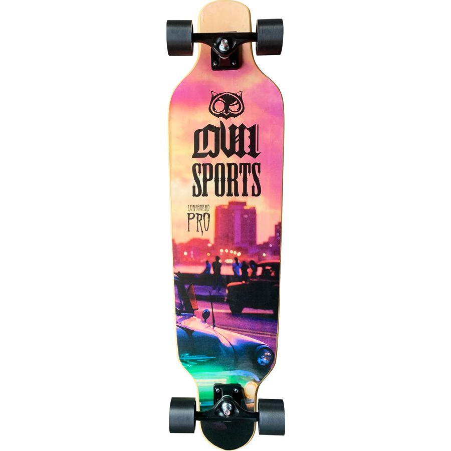 Skate Longboard Completo Owl Sports Vice Speed
