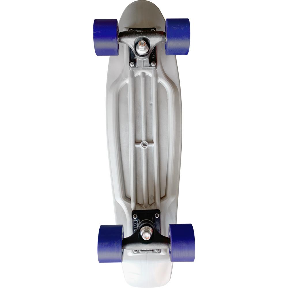 Skate Mini Cruiser Moon Time Prateado 22 POL.