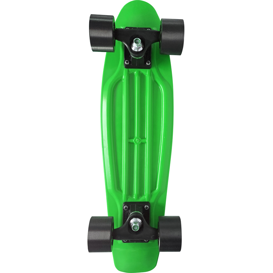 Skate Mini Cruiser Moon Time Verde 22 POL.
