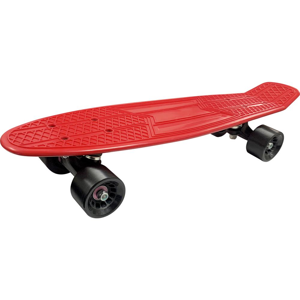 Skate Mini Cruiser Moon Time Vermelho 22 POL.