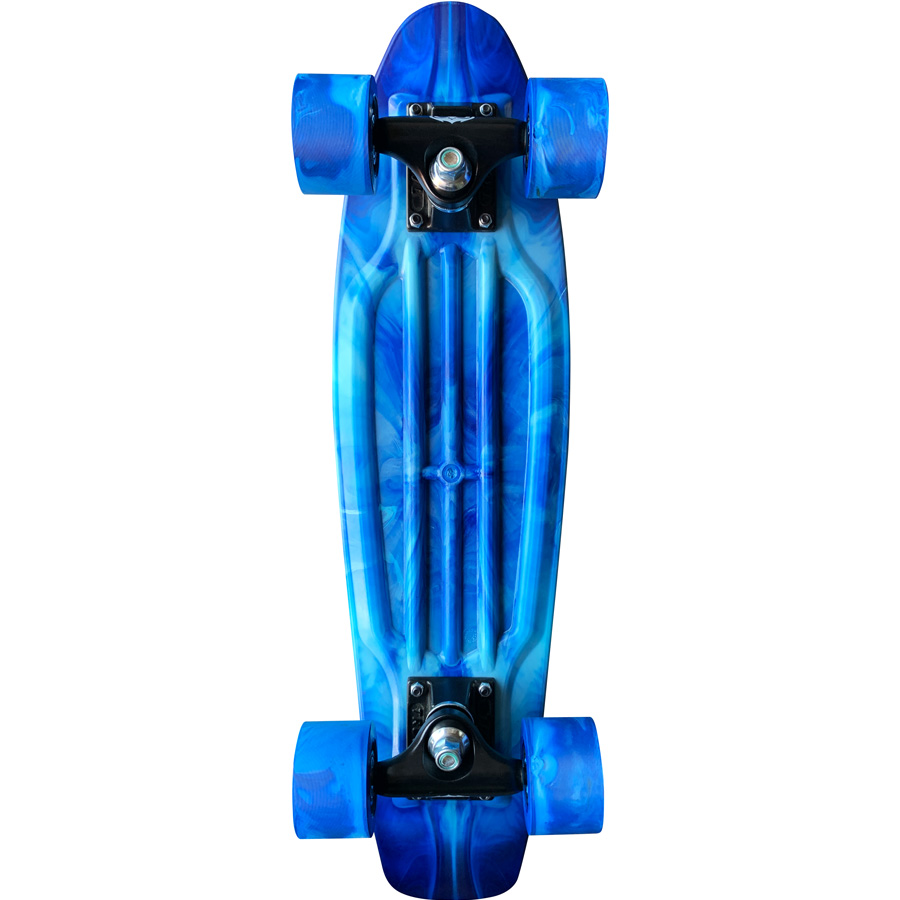 Skate Mini Cruiser Owl Sports Blue (Experience)