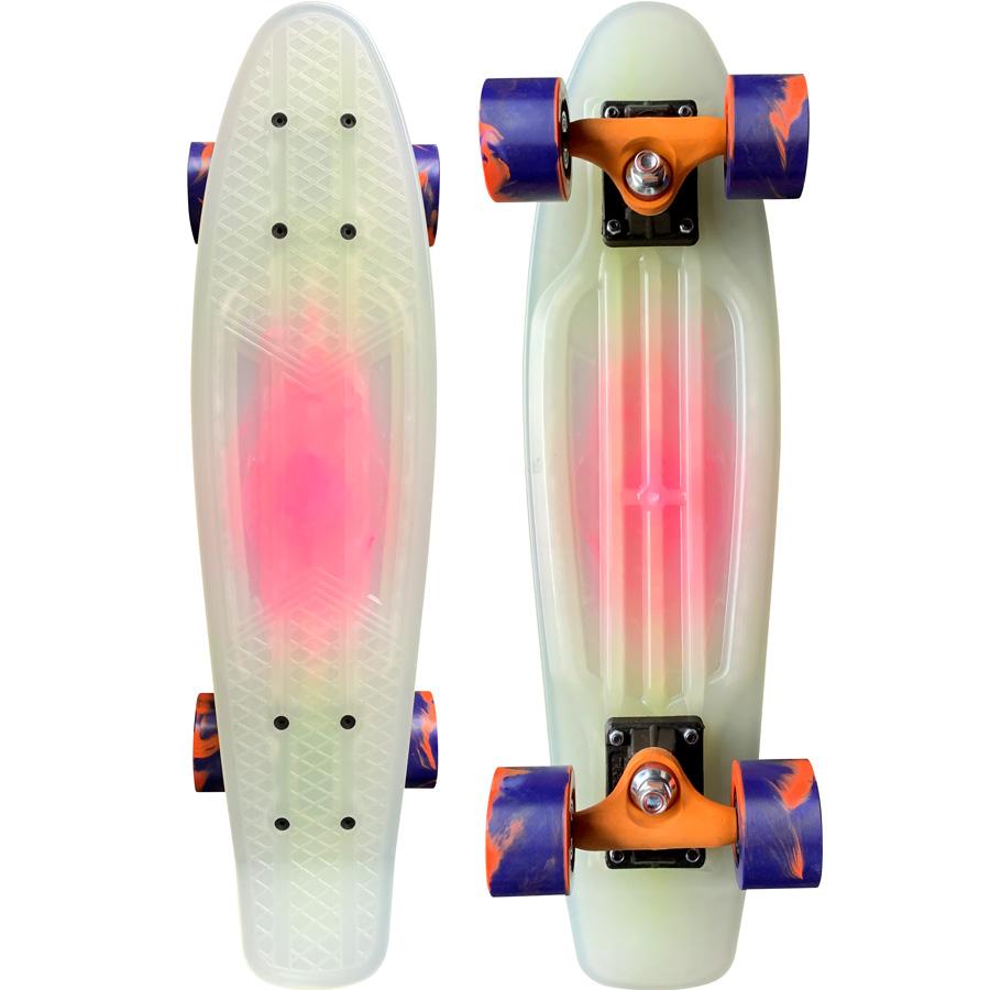 Skate Mini Cruiser Owl Sports Bubble Gum (Experience)  - OWL Sports