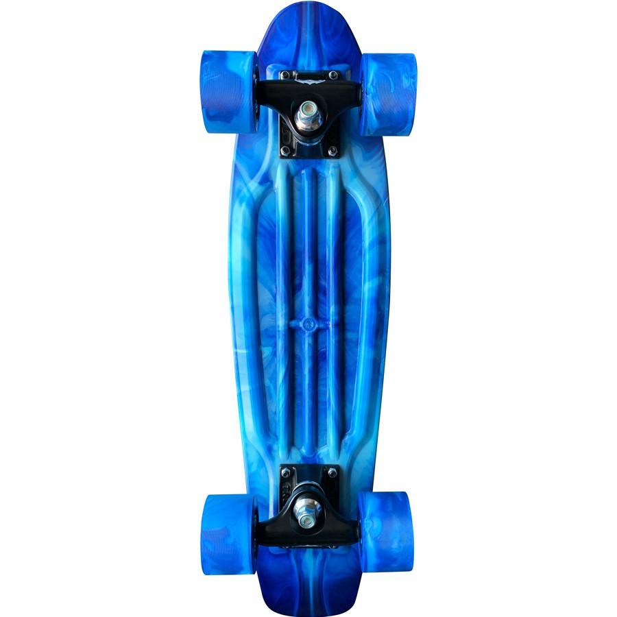 """EDIÇÃO LIMITADA Skate Mini Cruiser Owl Sports  Tie Dye 22"""" POL."""