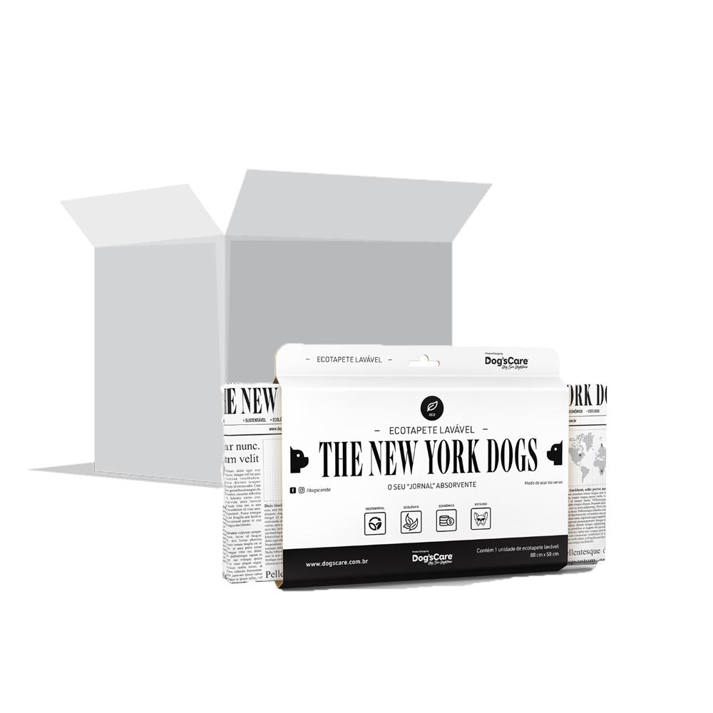Black Friday Caixa com 25 Unidades Eco Tapete Higiênico Lavável The New York Dog's