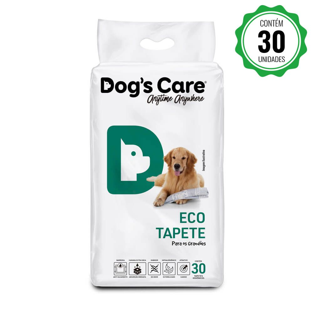 Eco Tapete Higiênico Grande Porte Dog's Care