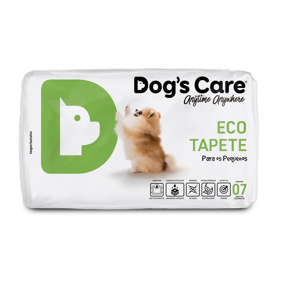 Eco Tapete Higiênico  Pequeno Porte Dog's Care - 07 unidades