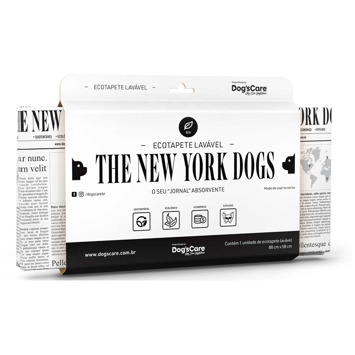 ECOTAPETE HIGIÊNICO LAVÁVEL THE NEW YORK DOGS