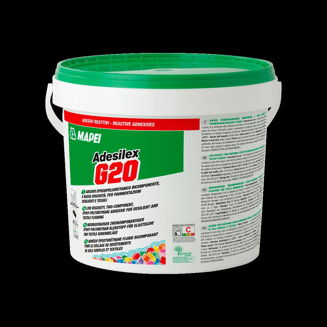 COLA ADESILEX G20 BEIGE (EPOXI PU MULTIUSO)-  BALDE DE 10 KG