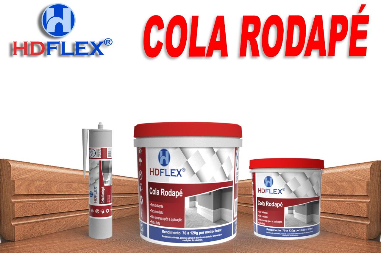 COLA PARA RODAPE 2107E - 1 KG - HD FLEX