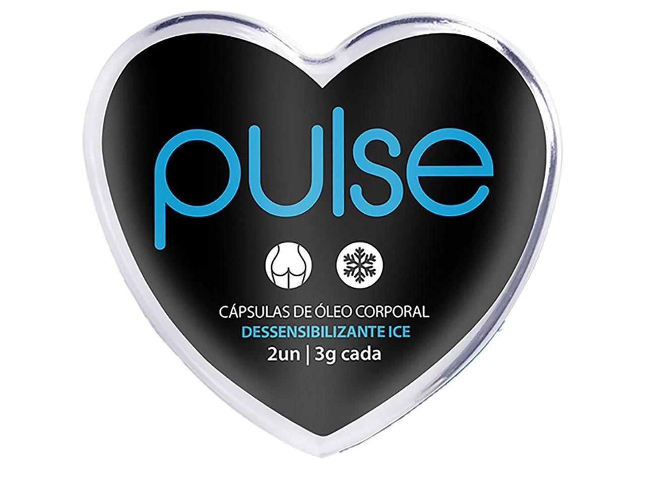Bolinha Pulse Dessensibilizante Ice com 2 unidades