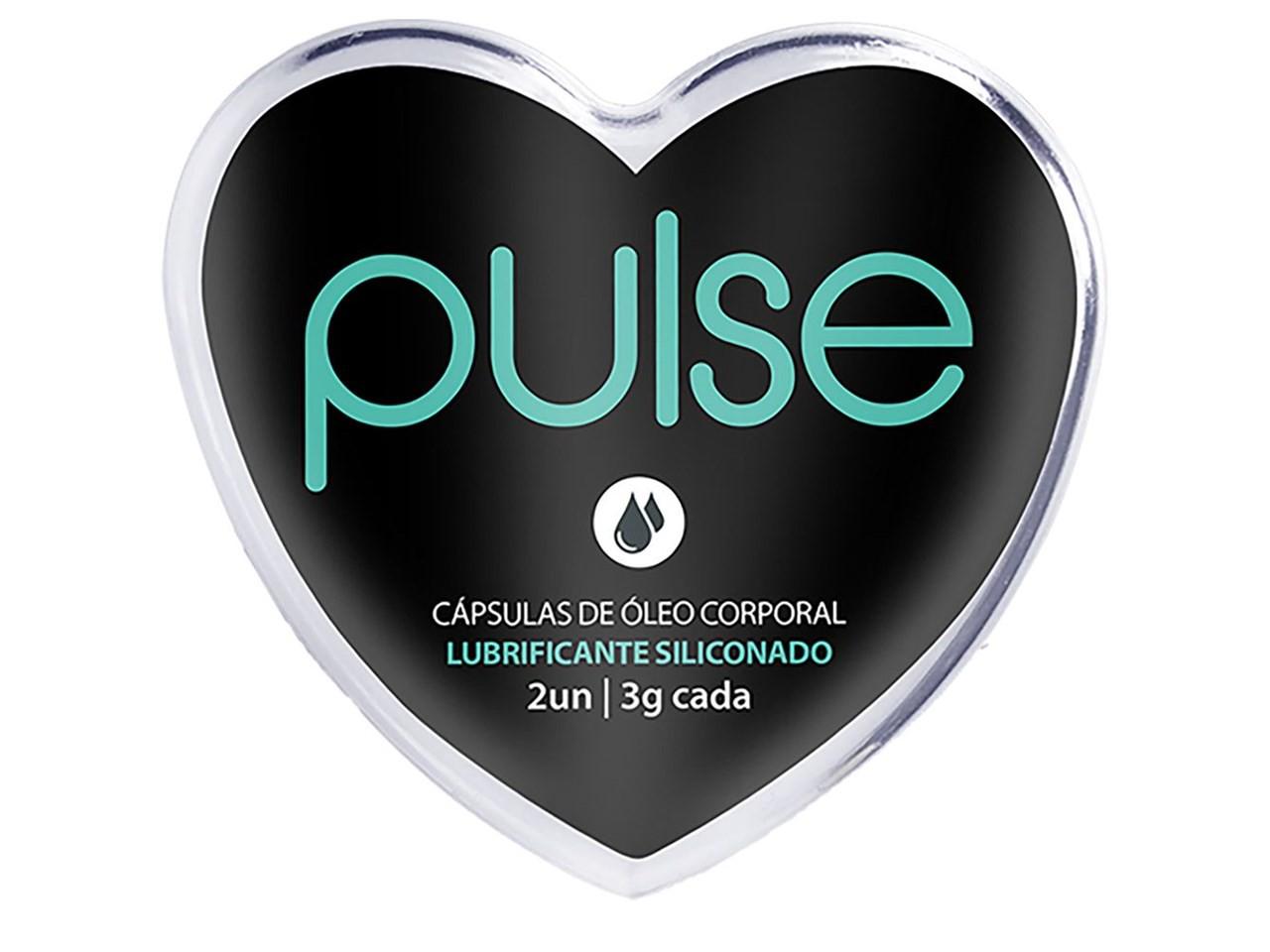 Bolinha Pulse Lubrificante Siliconado com 2 unidades