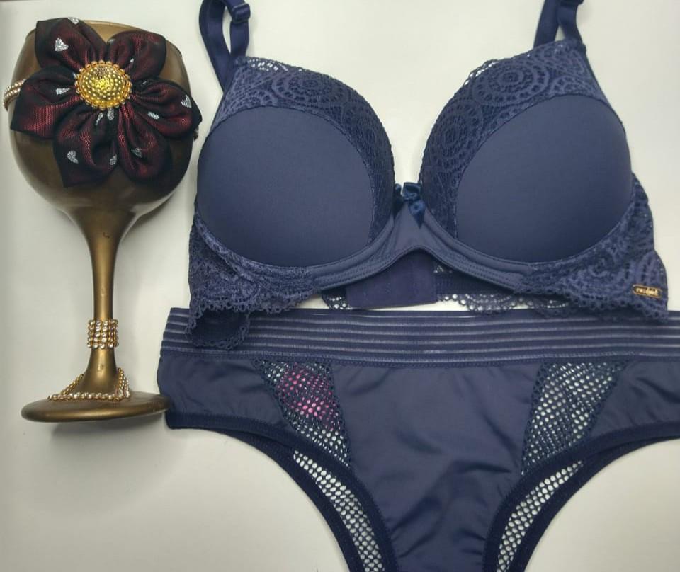 conjunto de lingerie sedução