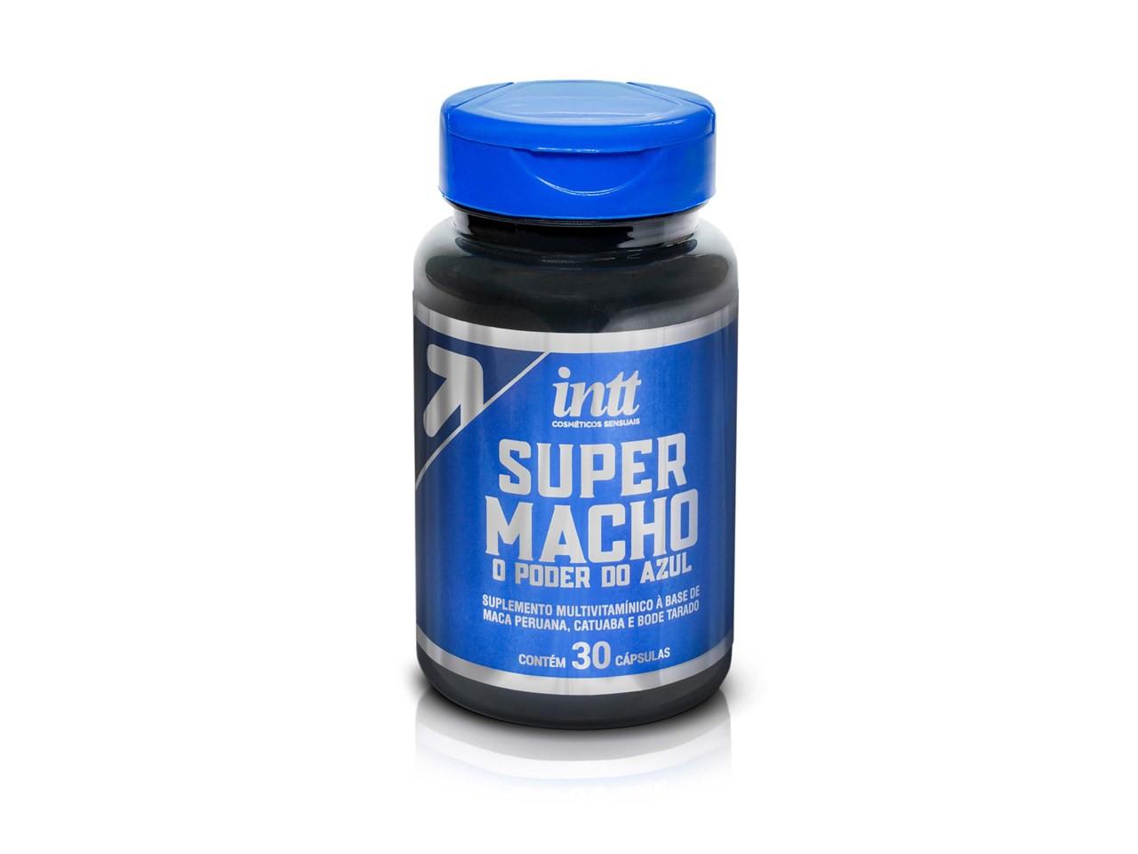 Suplemento multivitamínico Super Macho 30 cápsulas
