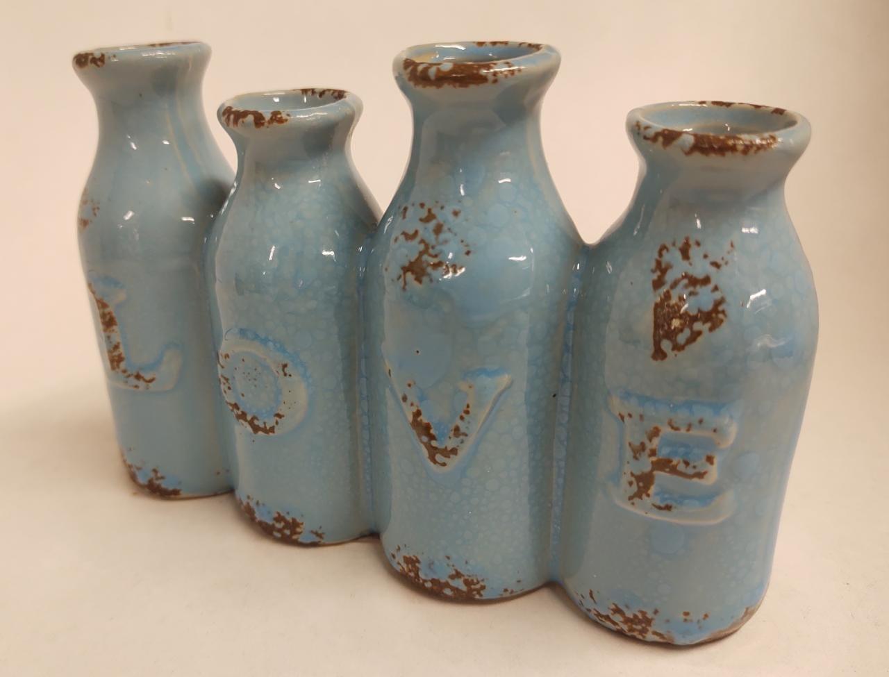 Mini Vasos Love Garrafinhas Sortido