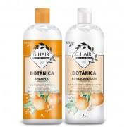 Combo Ghair Botânica Misto - Shampoo, Condicionador e Máscara