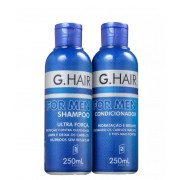 G.Hair For Men - Shampoo e Condicionador 250ml
