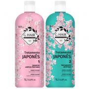 Ghair Escova Tratamento Japonês 2x1 Litro