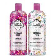Ghair Kit Desmaia Fios Shampoo e Condicionador Litro