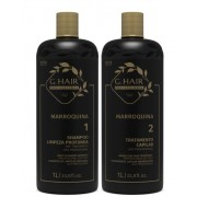 Ghair Kit Escova Marroquina 2x1 Litro
