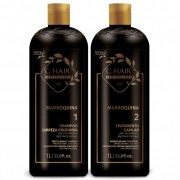Ghair Kit Escova Marroquina 2x1 Litro + Brinde Shampoo