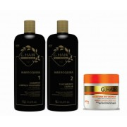 Ghair Kit Marroquina + Máscara de Verniz 500g