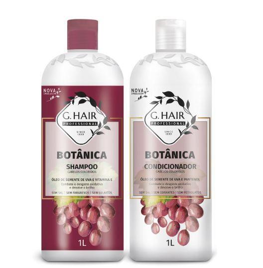 Combo Ghair Botânica Colorido Shampoo, Condicionador e Máscara  - Loja Ghair Cosmeticos