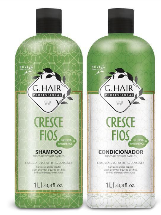 Combo Ghair Cresce Fios - Shampoo, Condicionador e Máscara  - Loja Ghair Cosmeticos