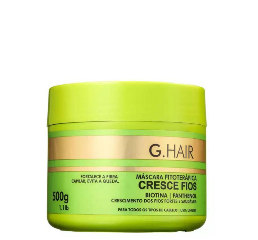Combo Ghair Kit Marroquina + Mascara Cresce Fios 500g  - Loja Ghair Cosmeticos