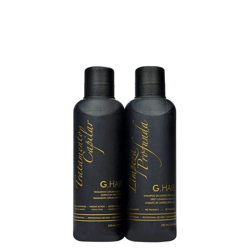 Ghair Kit Escova Marroquina 2x250ml  - Loja Ghair Cosmeticos