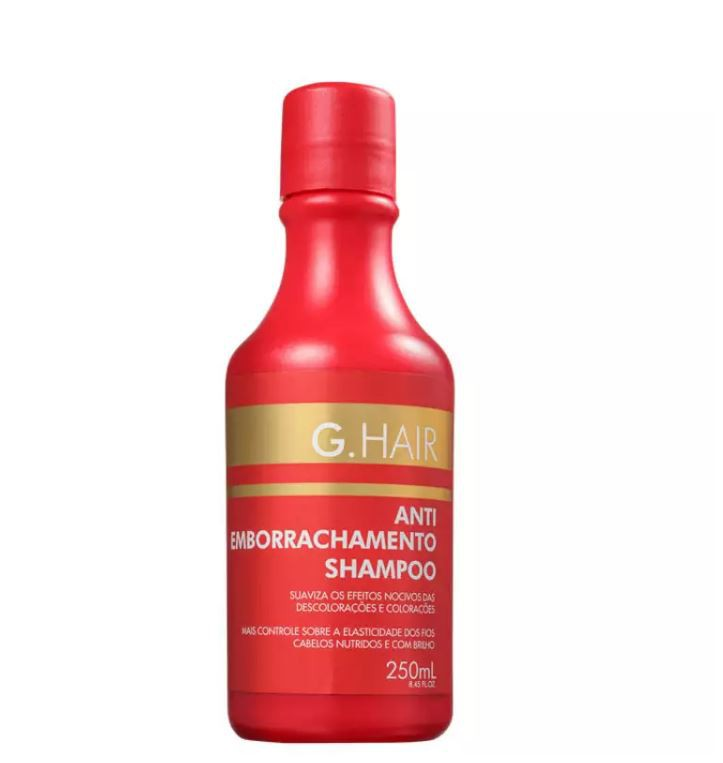 G.Hair Shampoo Antiemborrachamento 250ml  - Loja Ghair Cosmeticos