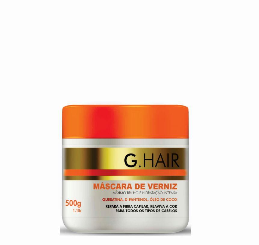 Ghair Kit Escova Alemã  + Máscara de Verniz 500g  - Loja Ghair Cosmeticos