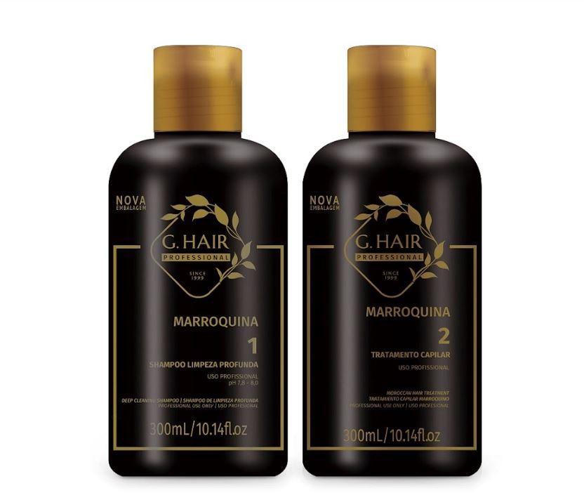 Ghair Kit Escova Marroquina 2x300ml  - Loja Ghair Cosmeticos