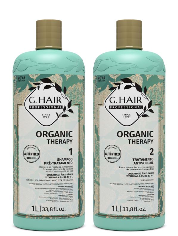 Ghair Kit Tratamento Organic Therapy  - Loja Ghair Cosmeticos