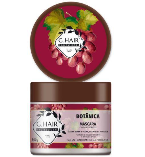 Ghair Máscara Botânica - Cabelos Coloridos 500g  - Loja Ghair Cosmeticos