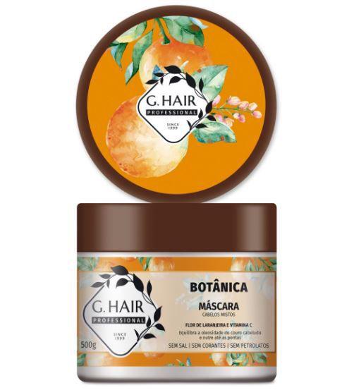Ghair Máscara Botânica - Cabelos Mistos 500g  - Loja Ghair Cosmeticos