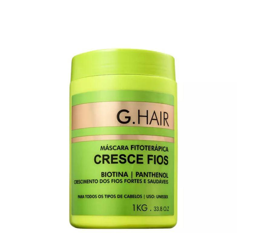 Ghair Máscara Cresce Fios Kg (validade 02/22)  - Loja Ghair Cosmeticos