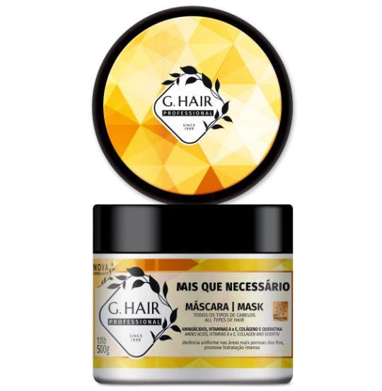 Ghair Máscara +Que Necessário 500g  - Loja Ghair Cosmeticos